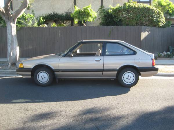 Pick Of The Day Time Capsule 1985 Honda Accord Hatchback Moto Match