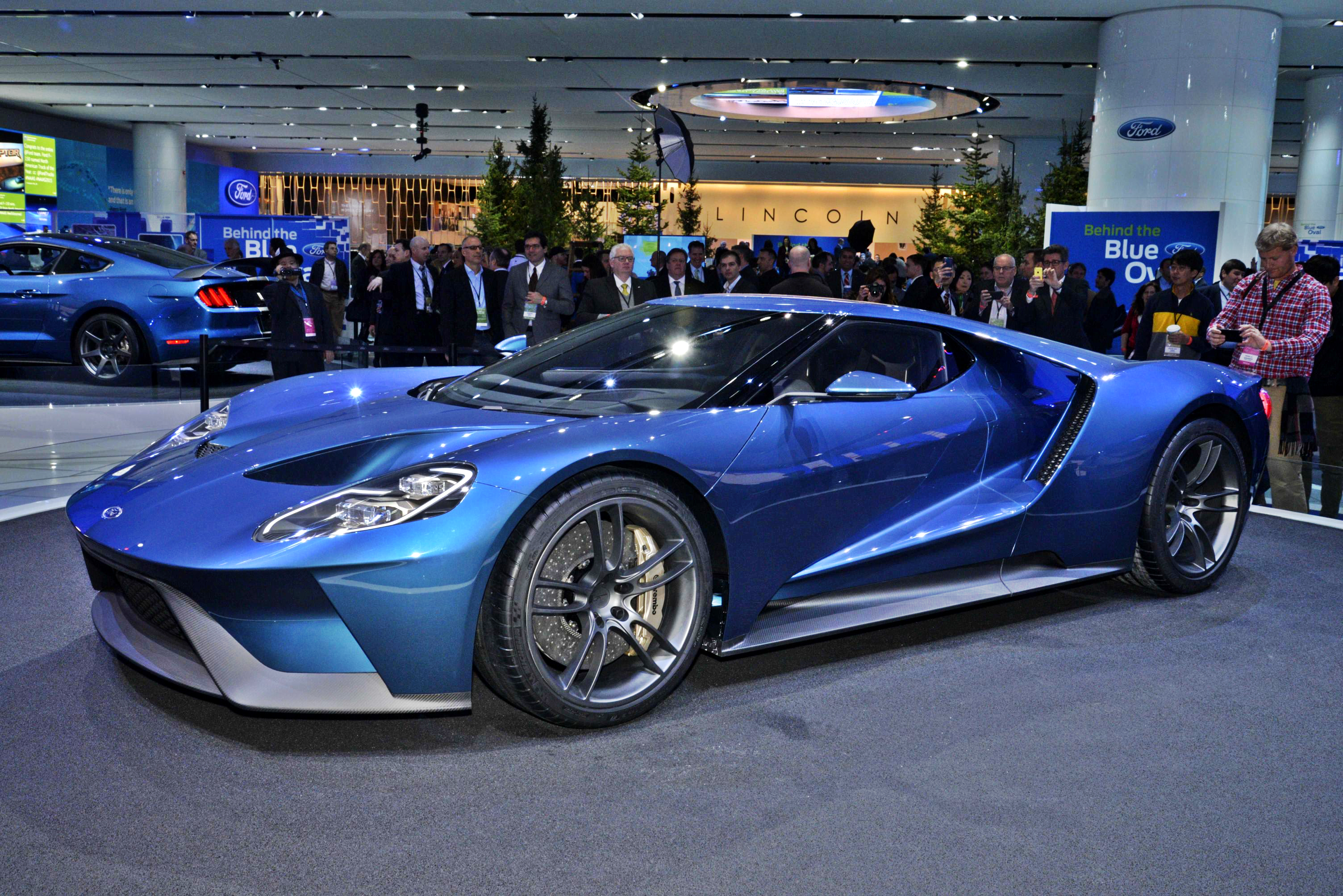Ford Today Unveiled The All New Gt An Ultra High Performance Supercar That Serves As A Technology Showcase For Top Ecoboost Performance Aerodynamics And